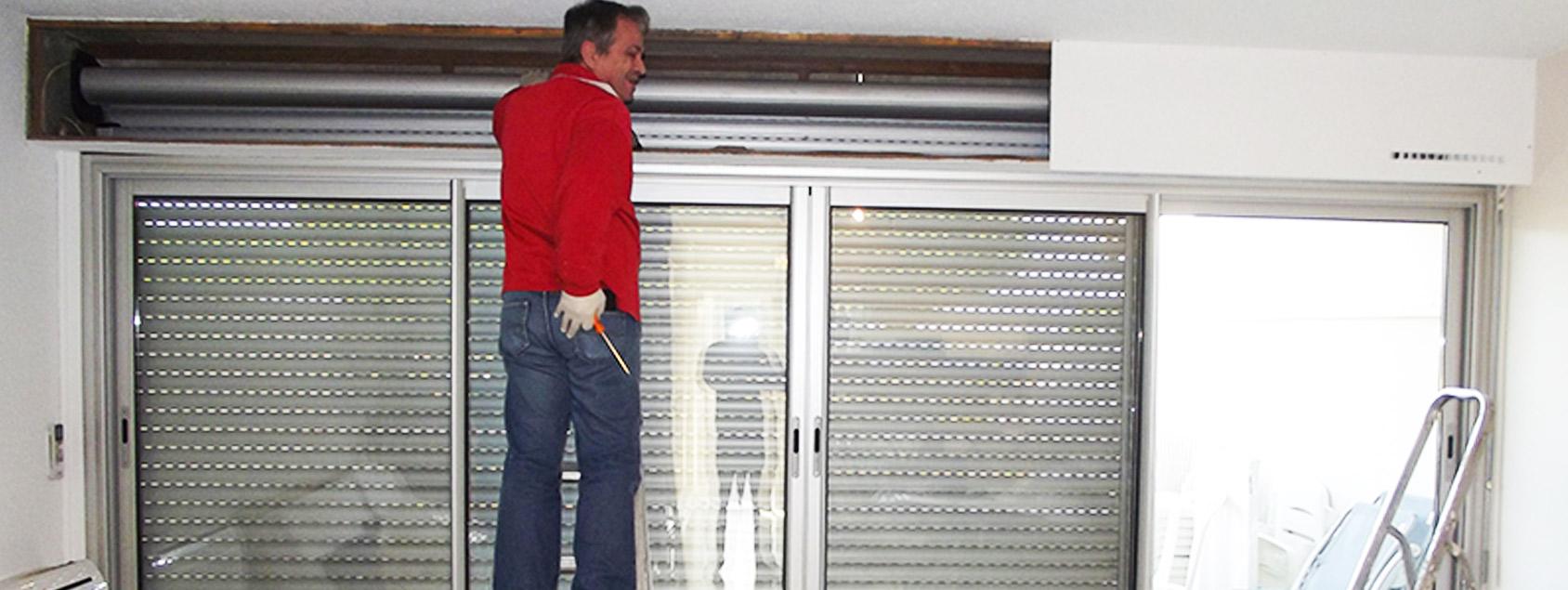 Pose et installation stores volets roulants la Grande Motte Froment DSD